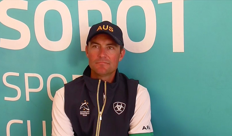 Interview with Stevie Macken, Australian Jumping Team – Source: EquestrianAUS