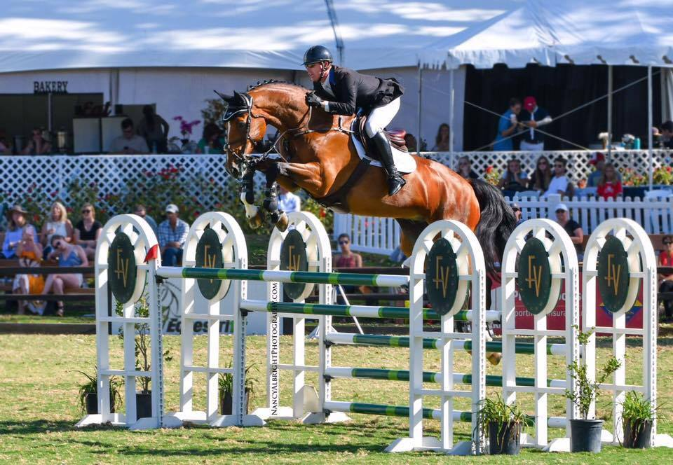Lane Clarke & Balu U Win $75,000 HITS Grand Prix