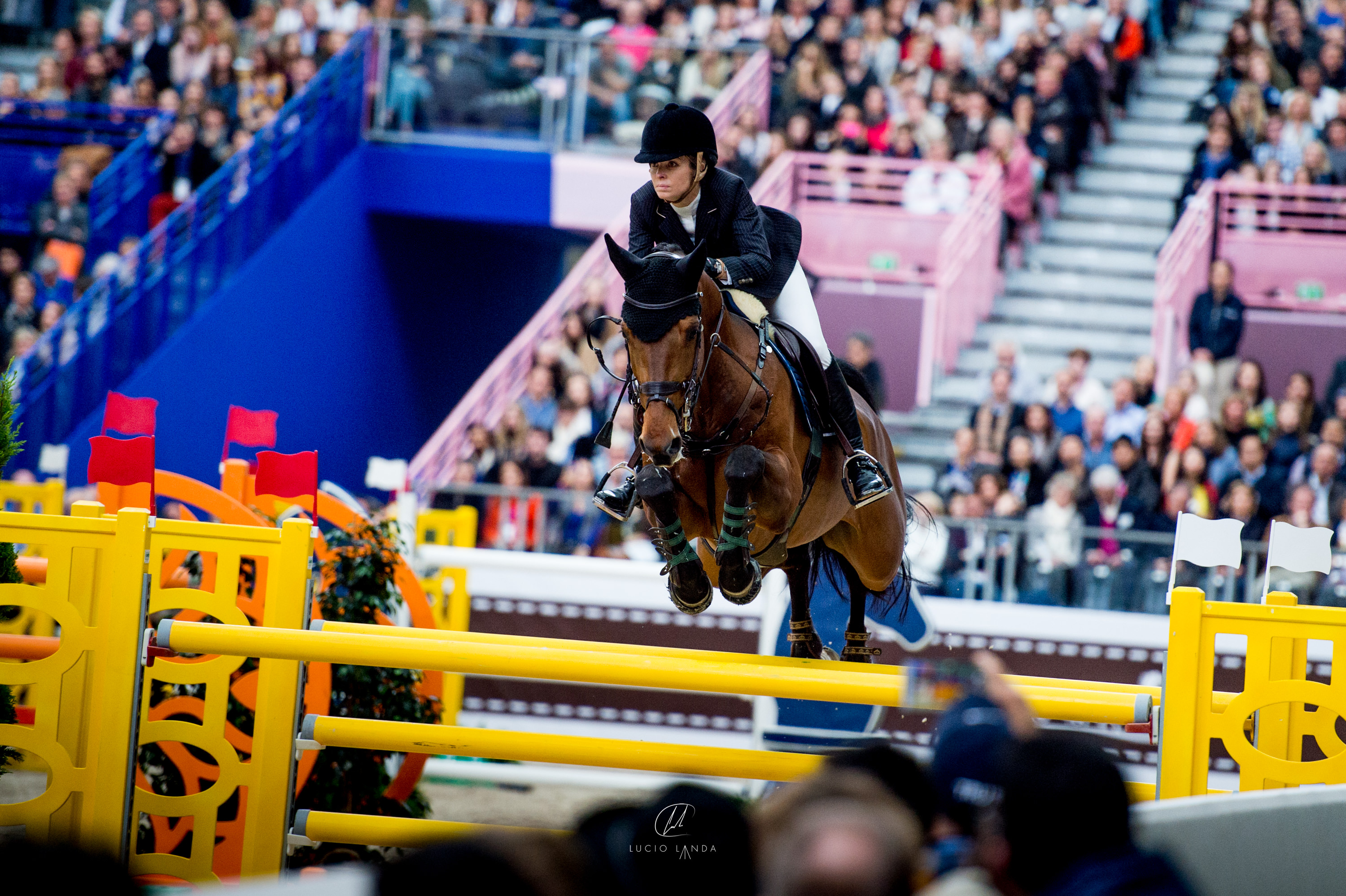 Edwina Tops -Alexander and California win the Hermes Grand Prix