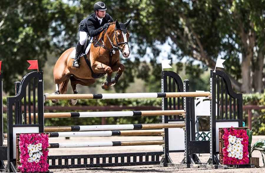 World Cup Qualifier win for Billy Raymont and 'Oaks Redwood'