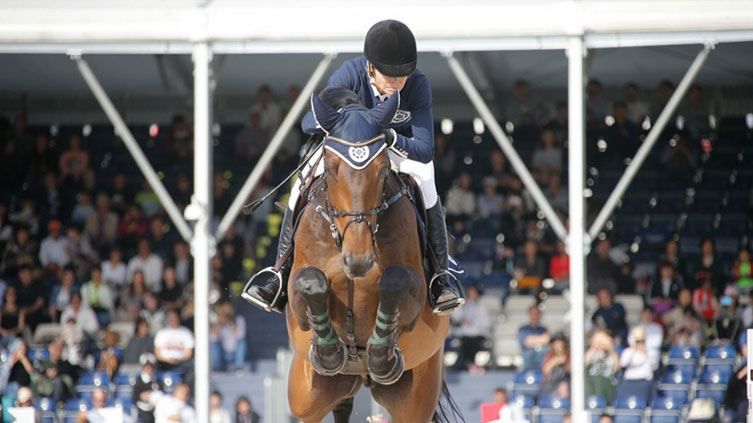 Edwina Tops – Alexander and Inca Boy in Round 2 of the GCL – Shanghai 2018