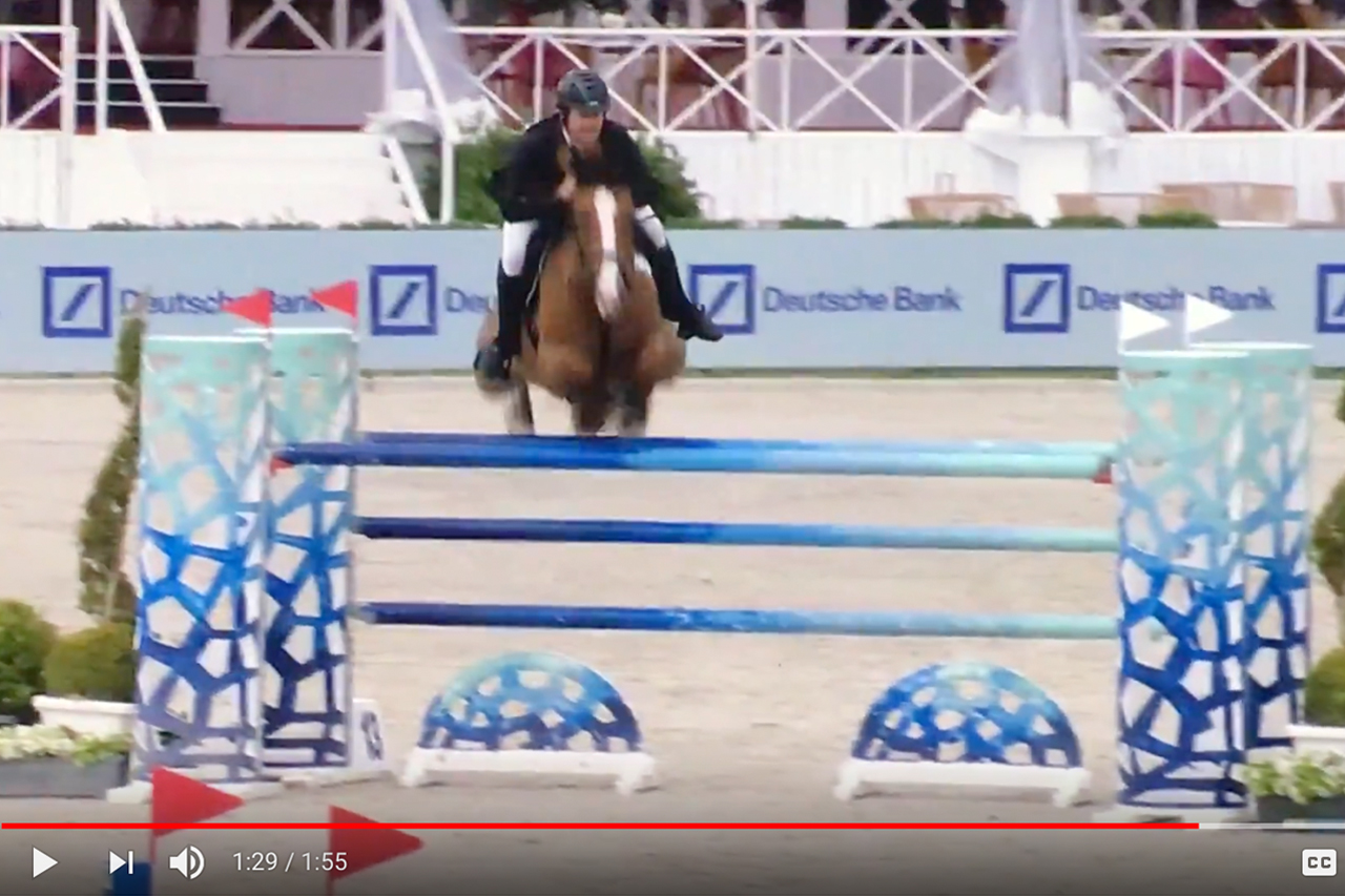 Great start for Aussie riders in the CSI3* Knokke Summer Circuit