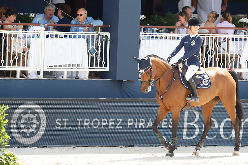 Edwina Tops-Alexander rides again for St Tropez Pirates