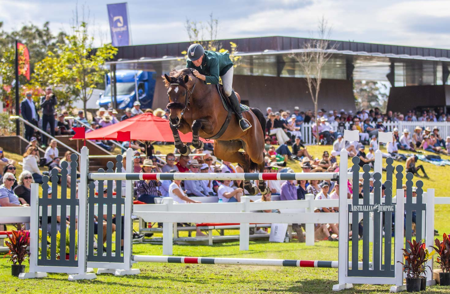 Chuggy Equestrian thrill the crowd at Willinga Park