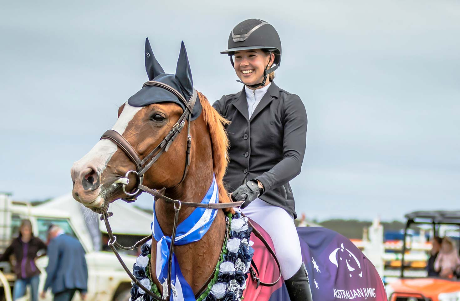 Madeline Sinderberry – 2019 Australian Jumping Young Rider Series Champion