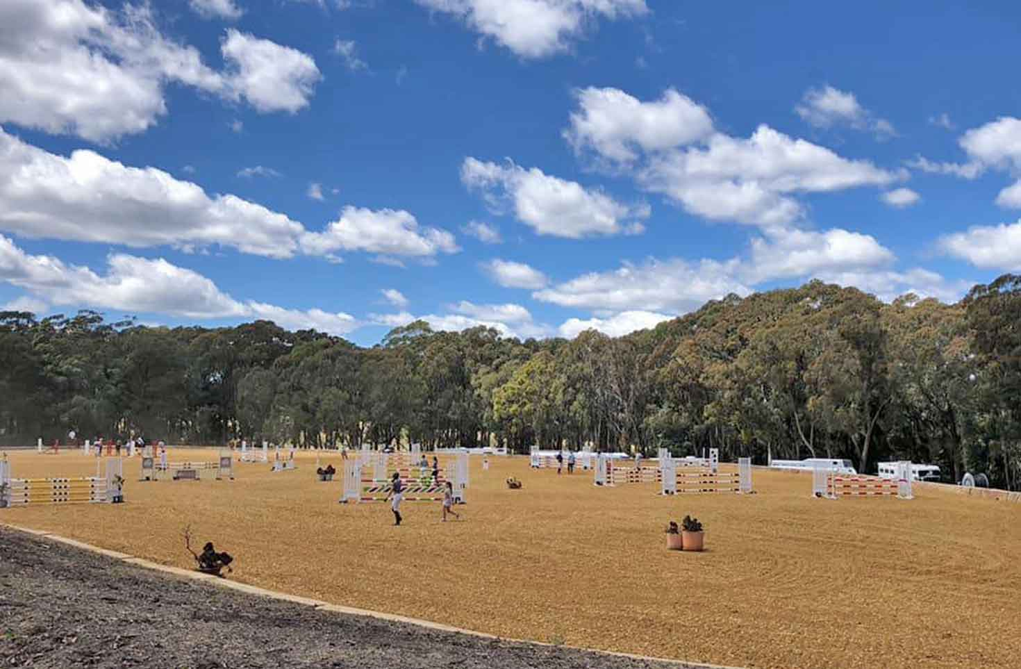 Lovely new venue: Stonewall Equestrian hosts local competition