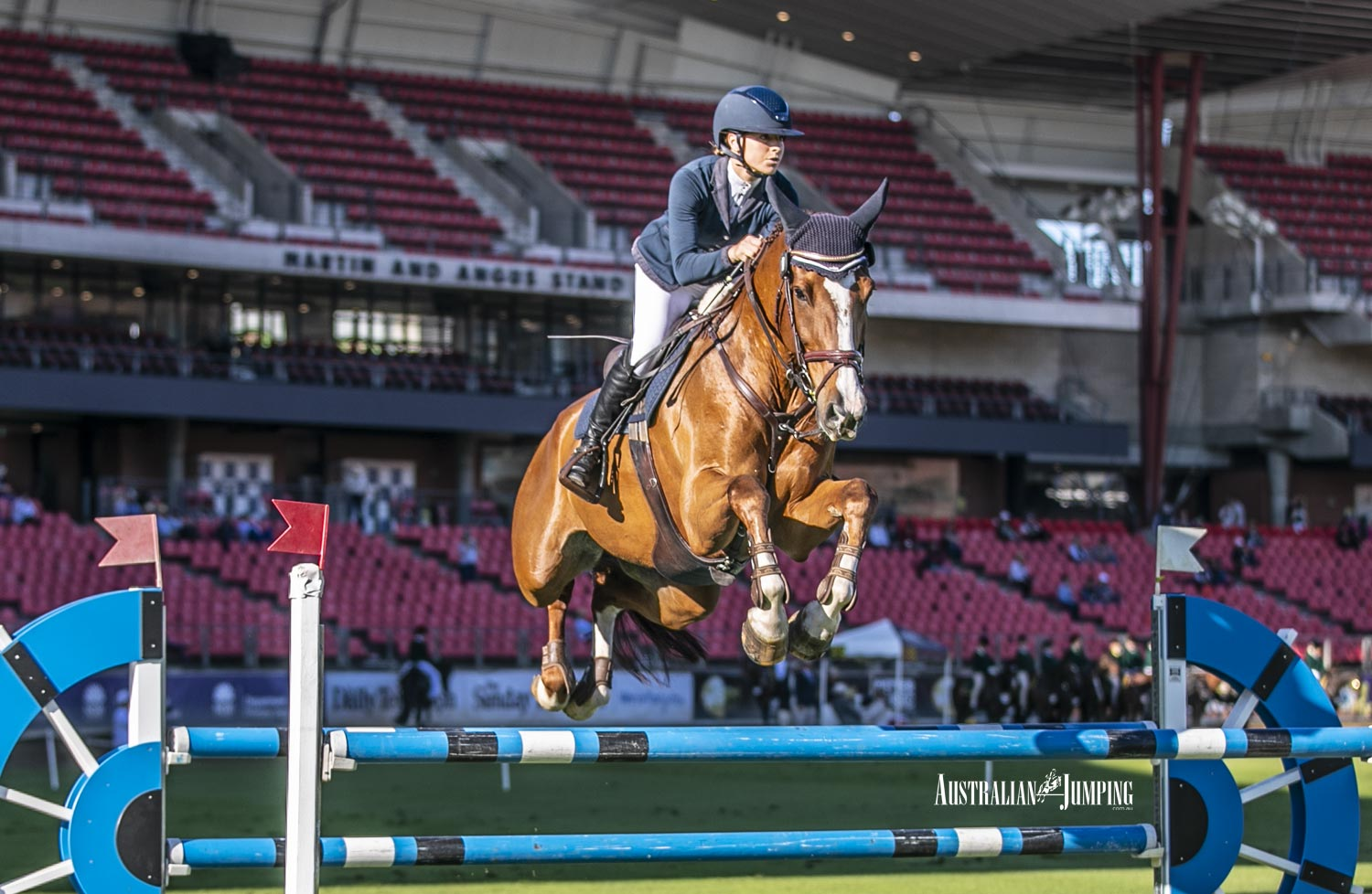 Wansey shines in the Young Rider at Sydney Royal