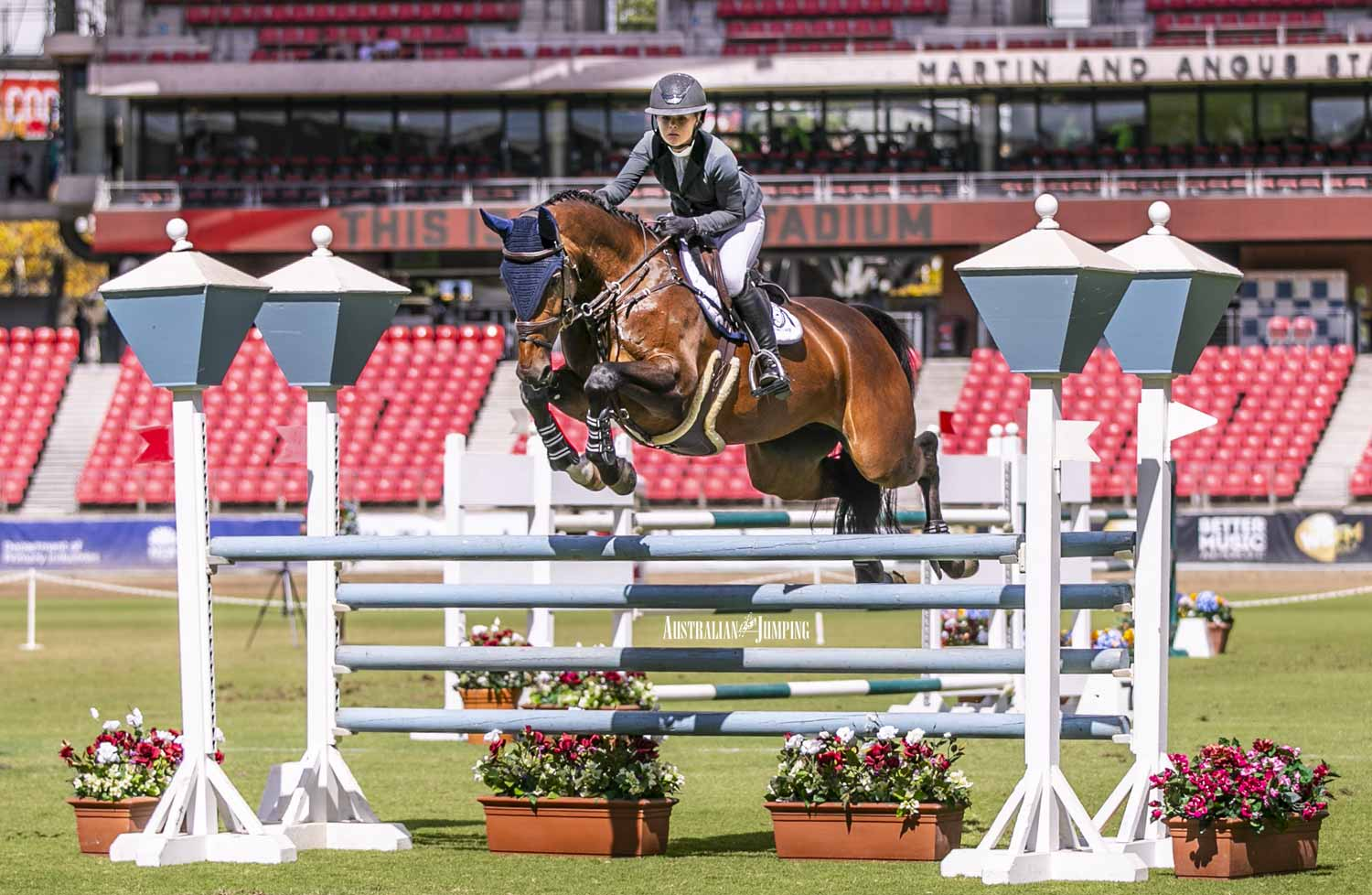 Jumping at Sydney Royal Leaps into Action