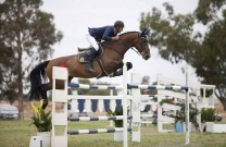 Clem Smith & Guru take the win at the QLD Grand Prix Horse Series Round 4