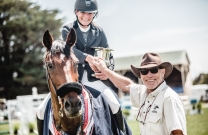 A damp but successful weekend at Tasmanian Showjumping Championships