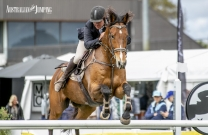 Riders battle it out for the Jumping NSW 2018 Amateur Series