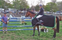 Alison Rowland victorious in The Bega Cup