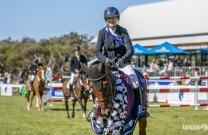 Amber Fuller and CP Aretino - 2018 Australian Senior Jumping Champions