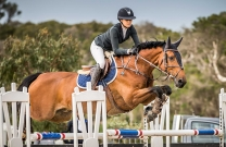 Amelia Douglass and Sirius Du Granit victorious in Stal Tops Young Rider at Boneo
