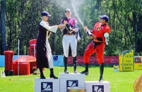 Showjumpers smash Eventers at Wallaby Hill