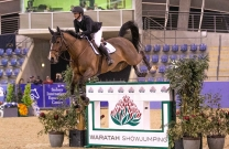 Brooke Campbell shines in Waratah Showjumping CSI1*