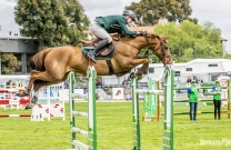 Chris Chugg takes out Horseware Australia Jumping Prelude at Equitana