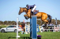 Clay Simmonds named inaugural Australian League FEI Jumping World Cup™ Rookie of the Year