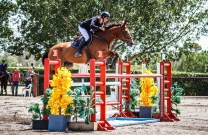 Young jumping riders bound for Beijing