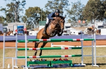 Clem Smith stars in the 2018 Boral Grand Prix at Gatton Ag Show