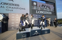 Edwina Tops-Alexander - new LGCT leader after taking 3rd in St Tropez Grand Prix
