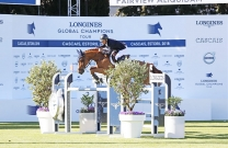 Australian bred World Cup horse Fairview Aliquidam 2nd in the CSI5* 1.45m at LGCT Cascais