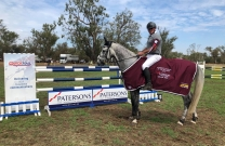 David Dobson flies to victory in the Swan River Showjumping GP