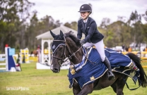 Du Plessis Dominates Young Rider Final at SIEC.
