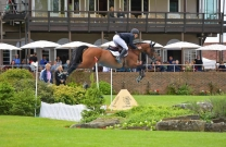 Jake Hunter shares his Hickstead experience