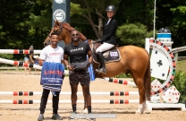 Katie Laurie and Cera Carusu race to win CSI4* Speed Classic at Traverse City