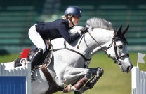 Katie Laurie claims victory aboard McCaw MVNZ at Spruce Meadows