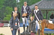 Aussies shine in the Land Rover Kentucky Three-Day Event Grand Prix