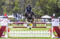 Lucy Lockes in the win at JNSW Summer show