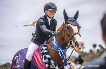 Madeline Sinderberry and Ciel - 2019 Australian Young Rider Champions
