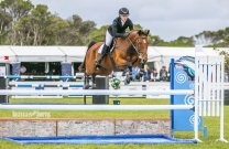 Madeline Sinderberry and JT Valentina - 2018 Australian Junior Jumping Champion