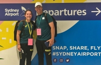 Madeline Sinderberry taking on the world at the Youth Olympic Games