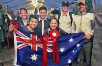 Second place for Australia in FEI Nations Cup in Drammen, Norway