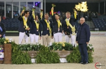 Australia Jumps to third in Nations Cup in Wellington