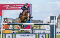 A blustery start to the Pryde's Easifeed Australian Jumping Championships