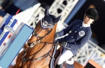 Edwina Tops-Alexander rides for St Tropez Pirates in GCT New York battle