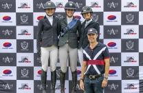 Amelia Douglass takes out Young Rider Final at Aquis