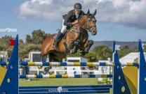 Rhys Stones and Tulara Colmar - 2018 Australian Mini-Prix Jumping Champions