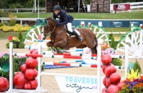Rowan Willis and Cartouch III win the Traverse City Staller Welcome Stake CSI4*