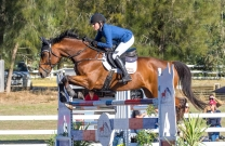 Samantha Lamont takes out the Mini Prix at Swan River Showjumping Club