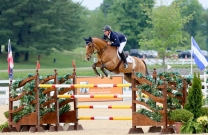 Scott Keach and Fedor take out 3rd at CSI5* 1.60m GP at Spruce Meadows