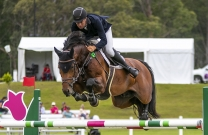 Tom McDermott and Tess McInerney share the limelight at The Rider's Series