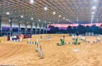 Passion for jumping extends north