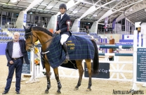 Tom McDermott on fire! 1,2 in the second of the FEI CSI1* Spring Series