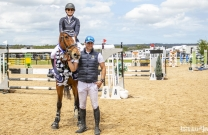 Morgan Daniel and Aladino - 2018 Australian Amateur Jumping Champions