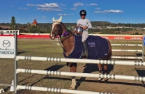 Sarah Dreverman wins Southern Tablelands Showjumping Cup
